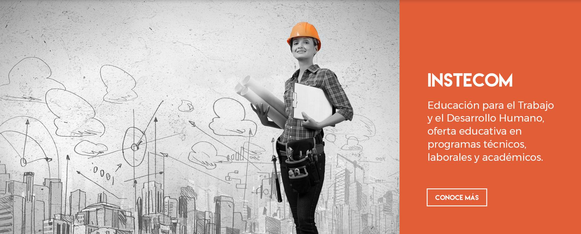INSTECOM Educación para el Trabajo y el Desarrollo Humano, oferta educativa en programas técnicos, laborales y académicos.